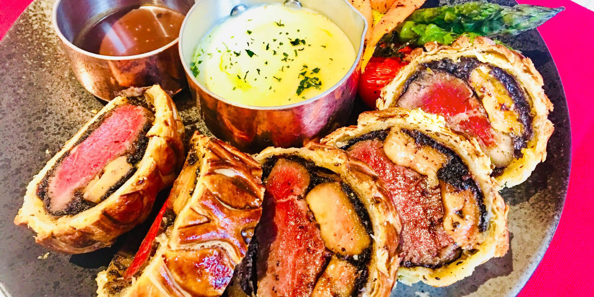 Australian Wagyu Wellington Beef Steak